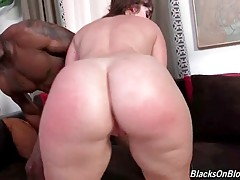 White Whore Has Fun With Two Tough Black Guys 1