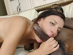 Sophia Grace begins to notice that her next door neighbor has become a bit of a peeping tom and she`s caught him getting hard while she was sunbathing in the backyard. Having noticed this she decides to strip down and begin fucking herself in front of him