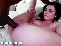 Big Black Dick Fucking Veruca James`s Pussy!