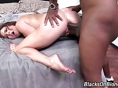 Slutty Krissy Lynn greatly enjoys deep anal pounding.