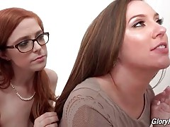 Penny Pax readily shares black cock with her friend Maddy O`Reilly.