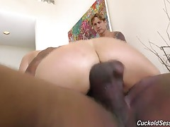 Alexis Fawx is happily married to a cuckold. She loves him very much. He`s an earner, and he freely gives Alexis what she desires most: big, black cock. They`re both very much into the cuckold lifestyle. Alexis and Hubby will go as far as cooking up schem
