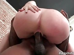 Sexy Mary Jane Mayhem enjoys big black cock in her love hole.