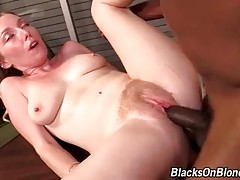 Black Guy Fucks And Creampies White Cutie 2