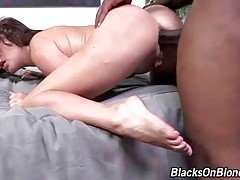 Horny Rico Strong deeply assfucks naughty Krissy Lynn.