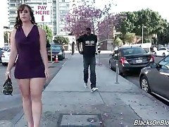 Two black guys make friends with curvaceous milf Virgo Peridot.
